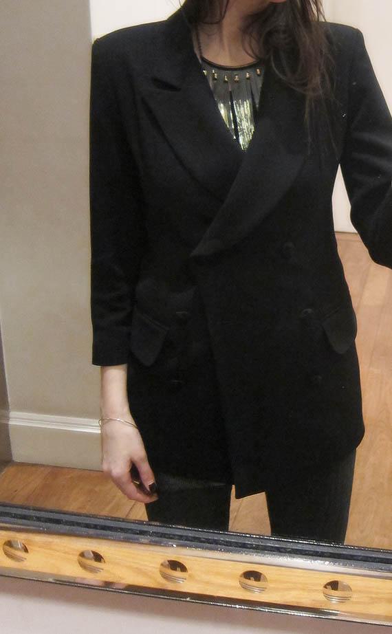 Karin Malm Blazer jacket work great on pregnant lady!