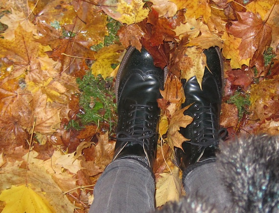 Angelina Brogue boots by Church´s at Nitty Gritty Stockholm