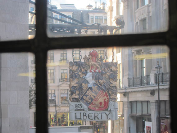 Liberty´s London photography Cecilia Steiner Walther