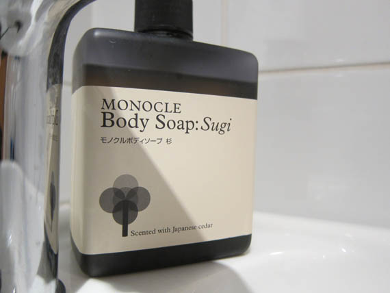 At Monocle Magazine headquarters London December 2012