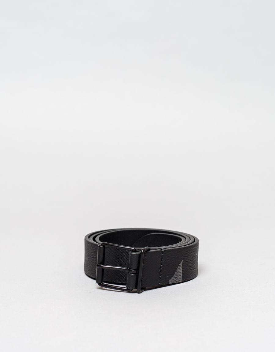 Anderson's Mono Caviar Leather Belt Black