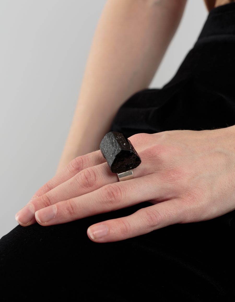 Märta Larsson Roxx Tourmaline Ring Sterling