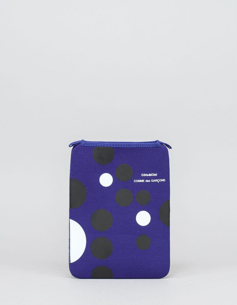 Comme des Garçons Wallet CeC Ipad Case Blue