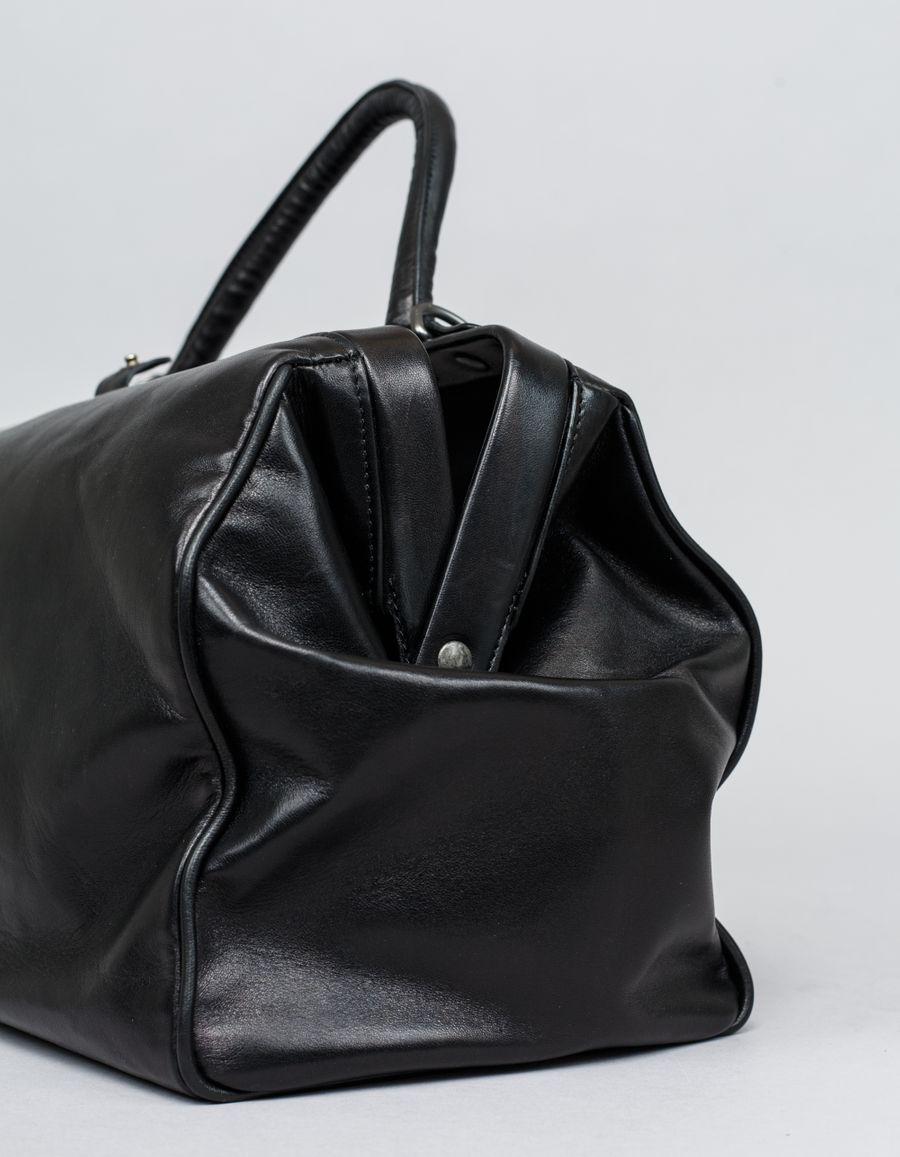 A.F.Vandevorst - Doctor's Lambskin Bag Black