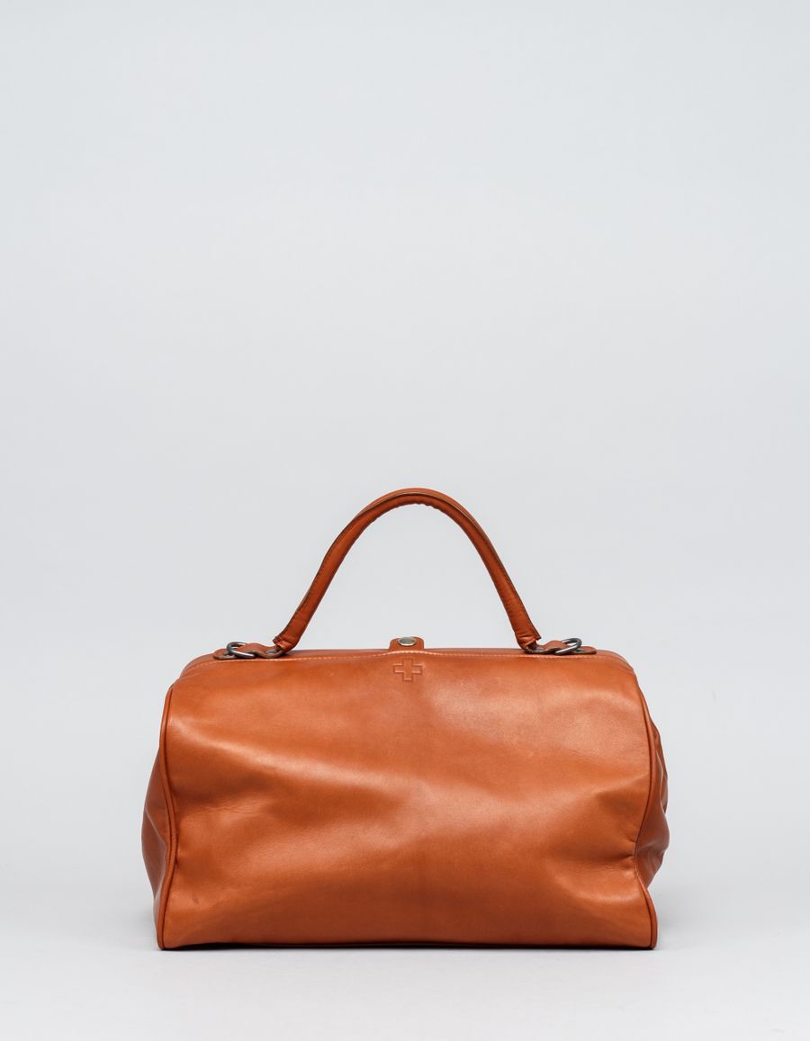 A.F.Vandevorst Doctor's Lambskin Bag Brown