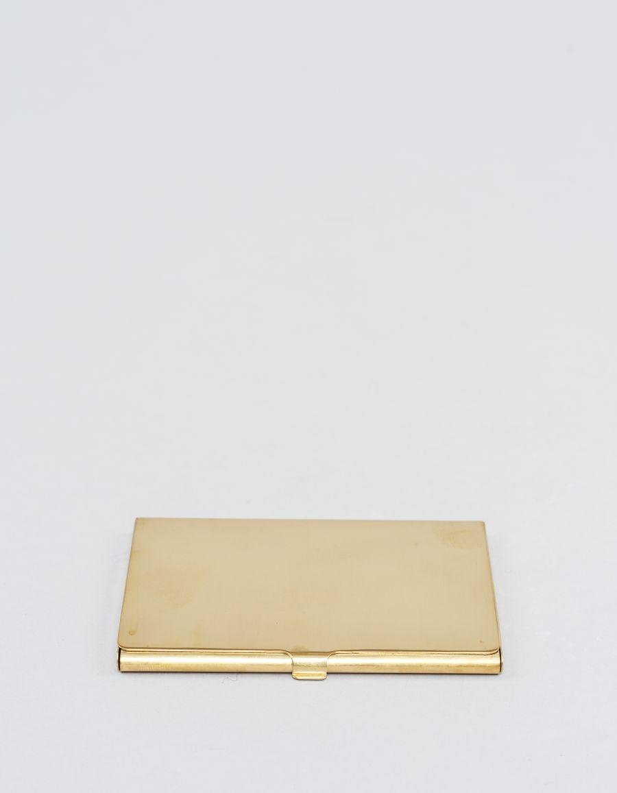 Rinouma - Brass Card Case