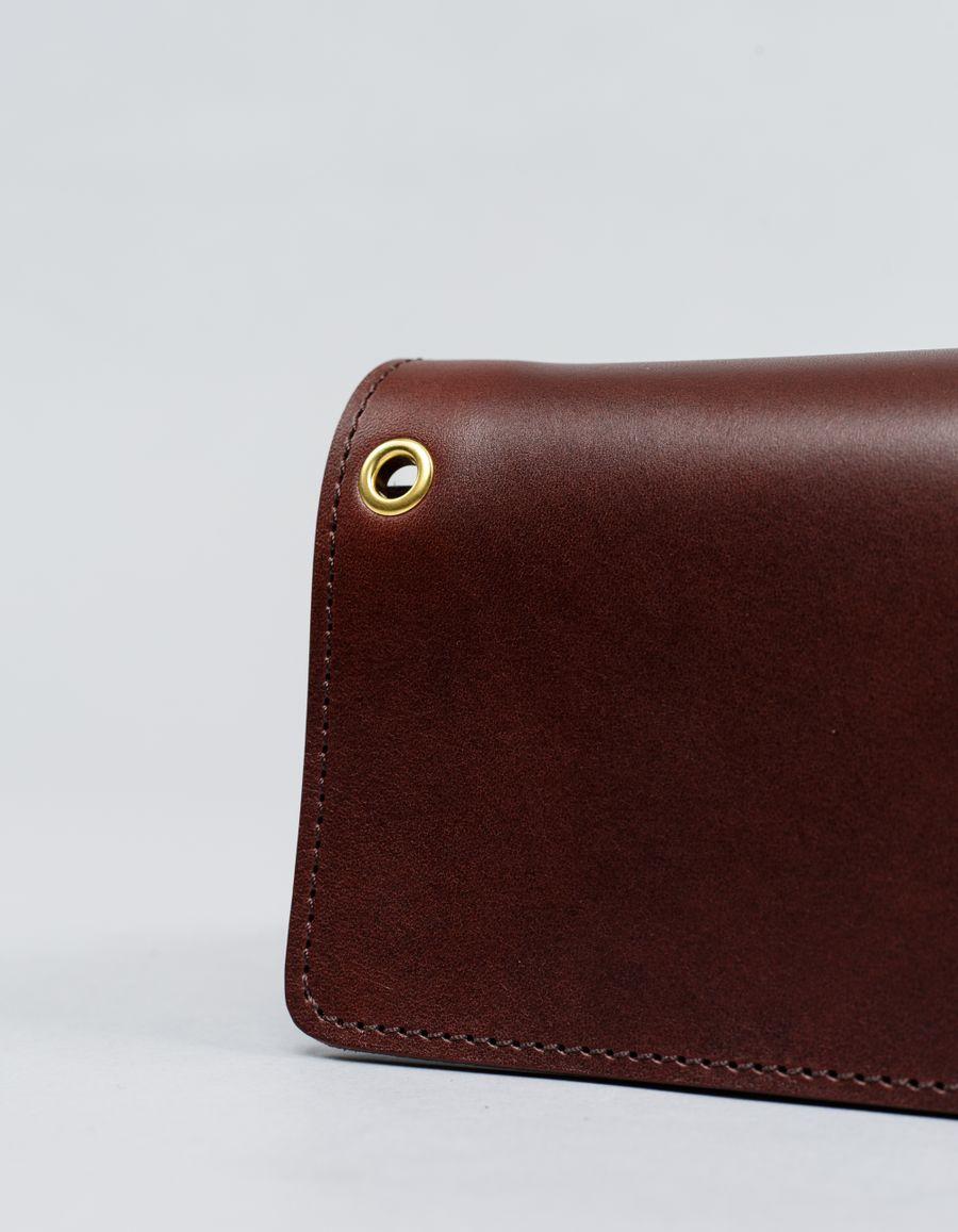 Rinouma - Leather Middle Wallet
