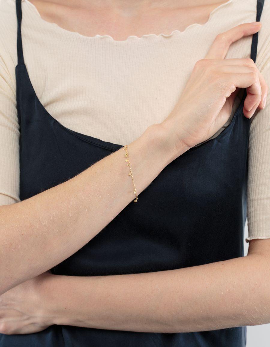 Sia Taylor Random Dots Bracelet 18k