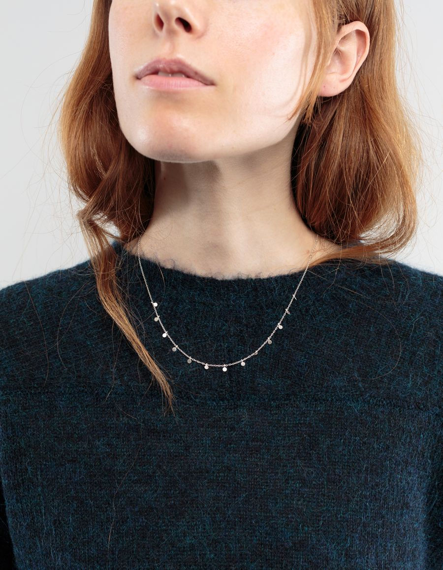 Sia Taylor Little Dots Necklace Sterling