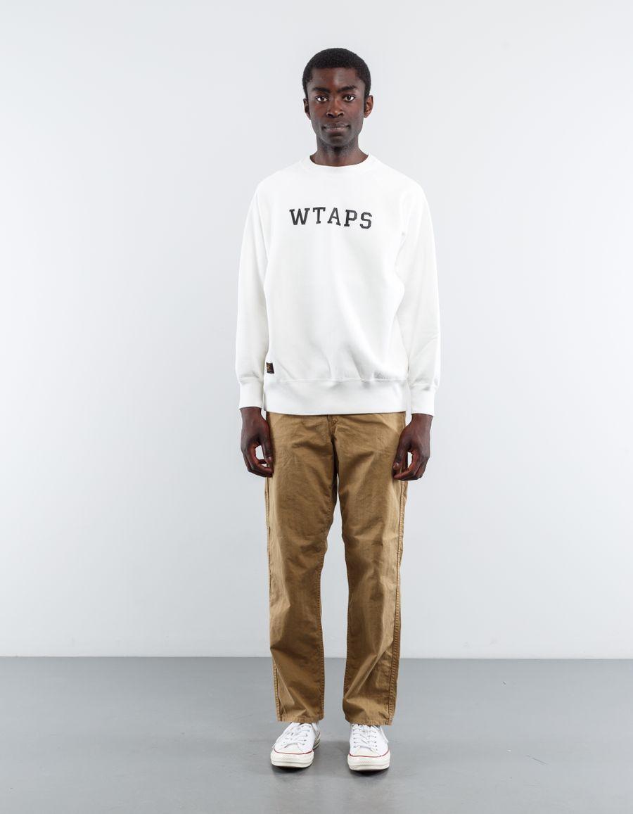 WTAPS Design College Sweatshirt