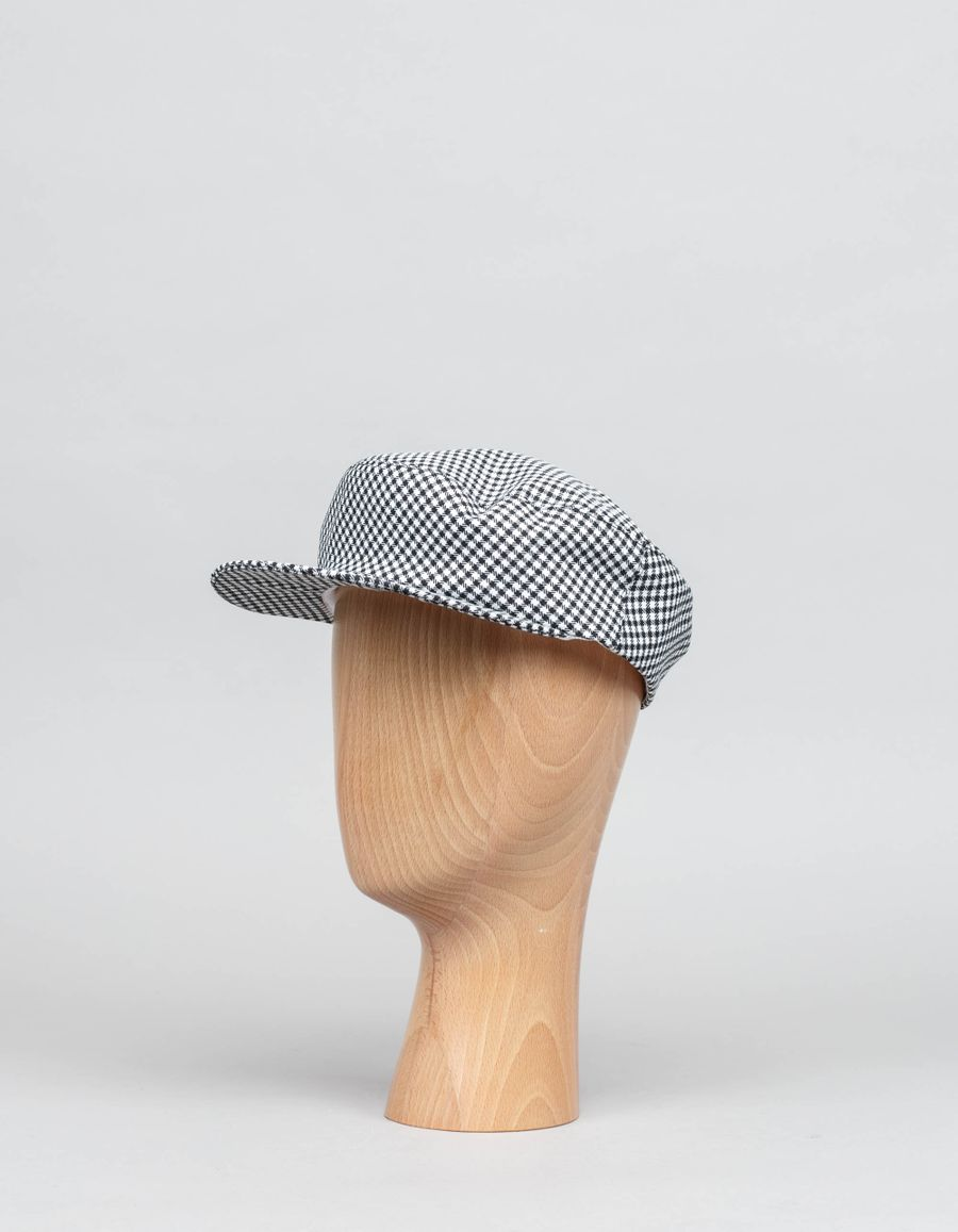 Clyde Gingham Acton Hat