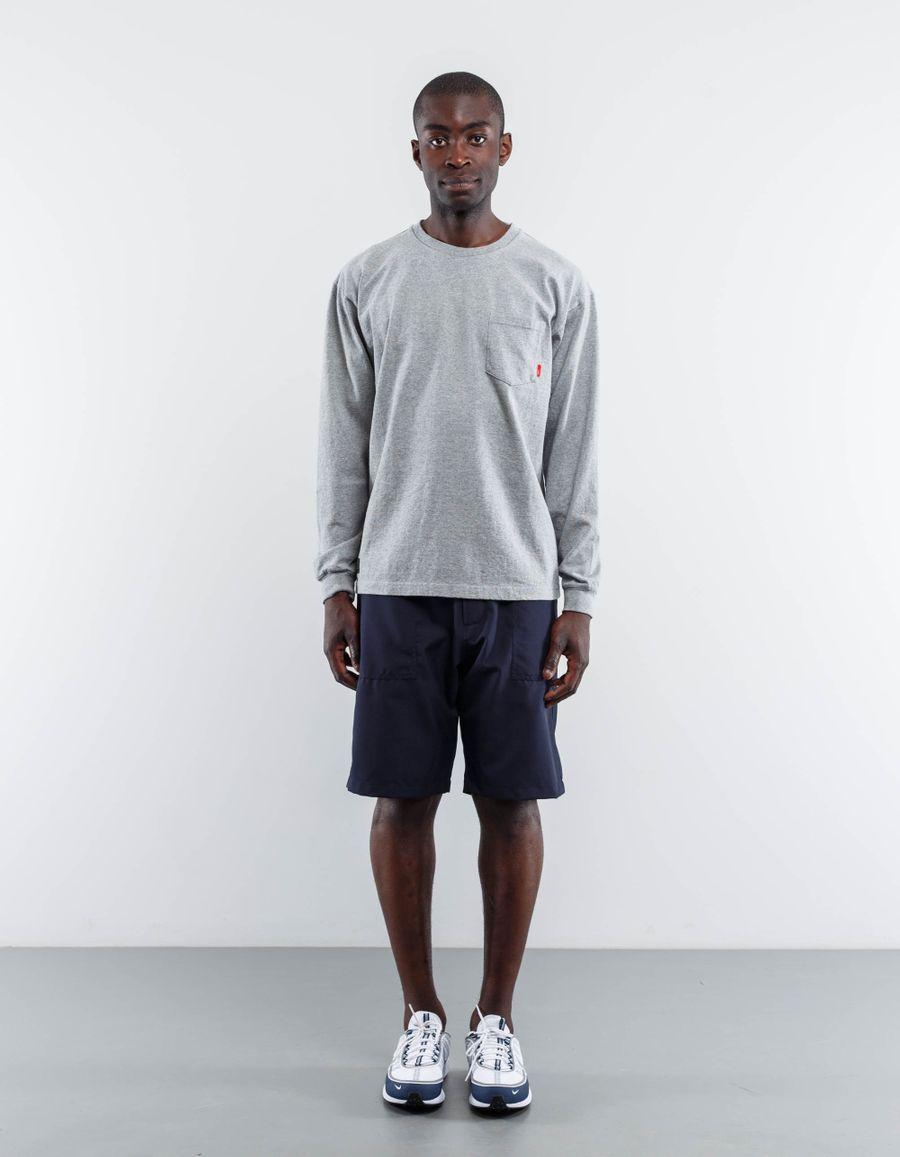 WTAPS Blank L/S Loopwheel T-Shirt