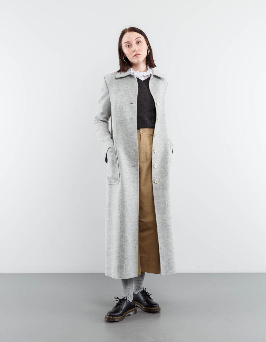 Helmut Lang Doubleface Long Coat