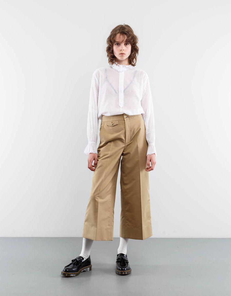 Isabel Marant Étoile Louna Frill Collar Blouse