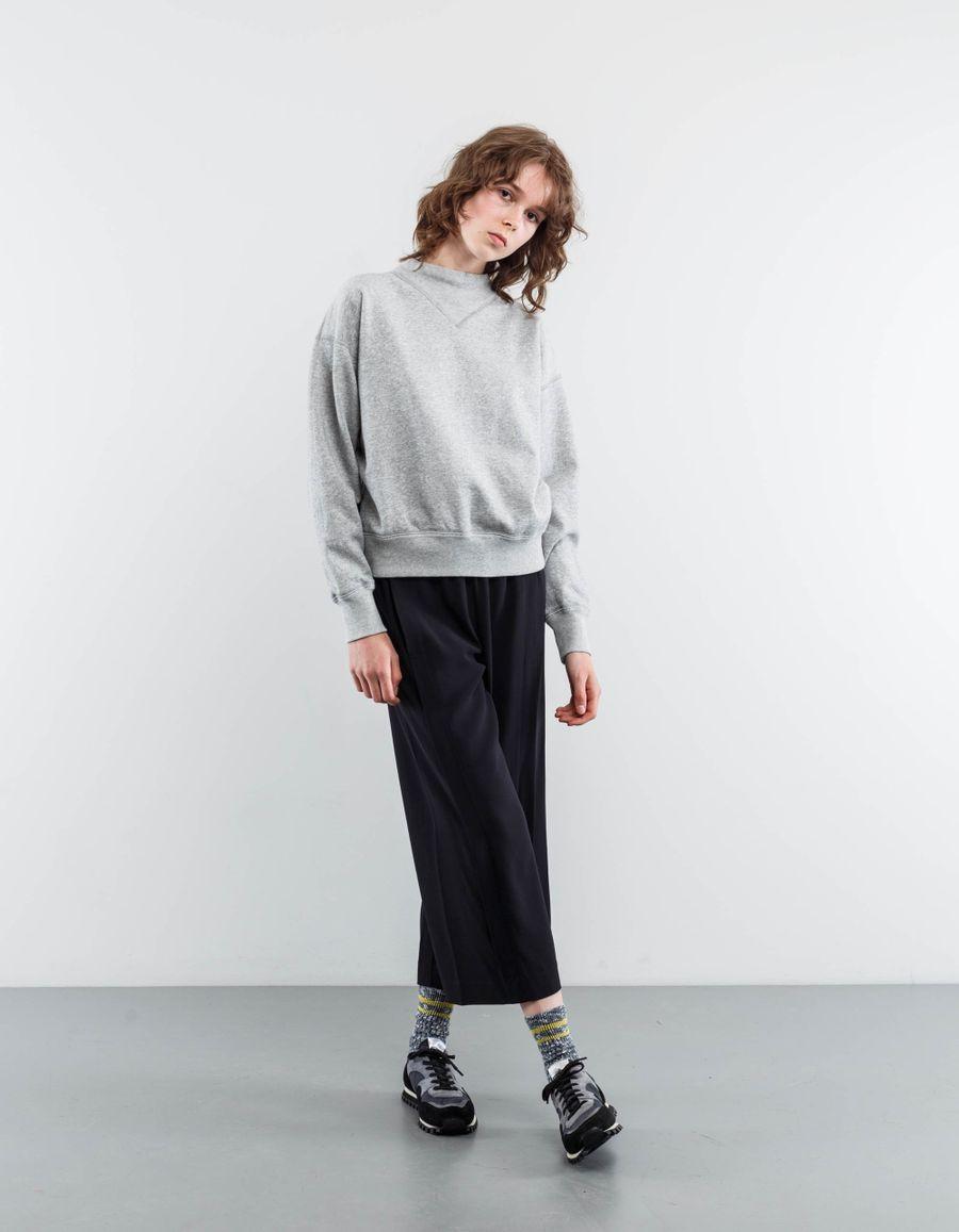 Isabel Marant Étoile Moby Raised Collar Sweatshirt