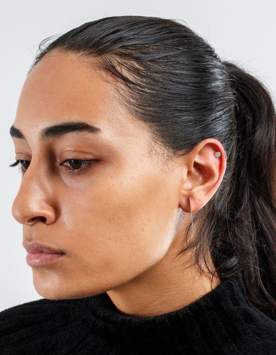 Sansoeurs Dot Silver Earring