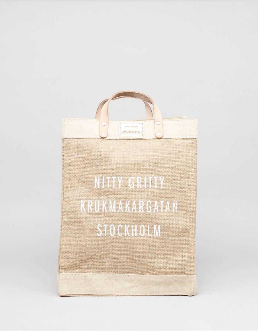Apolis NG Jute Market Bag
