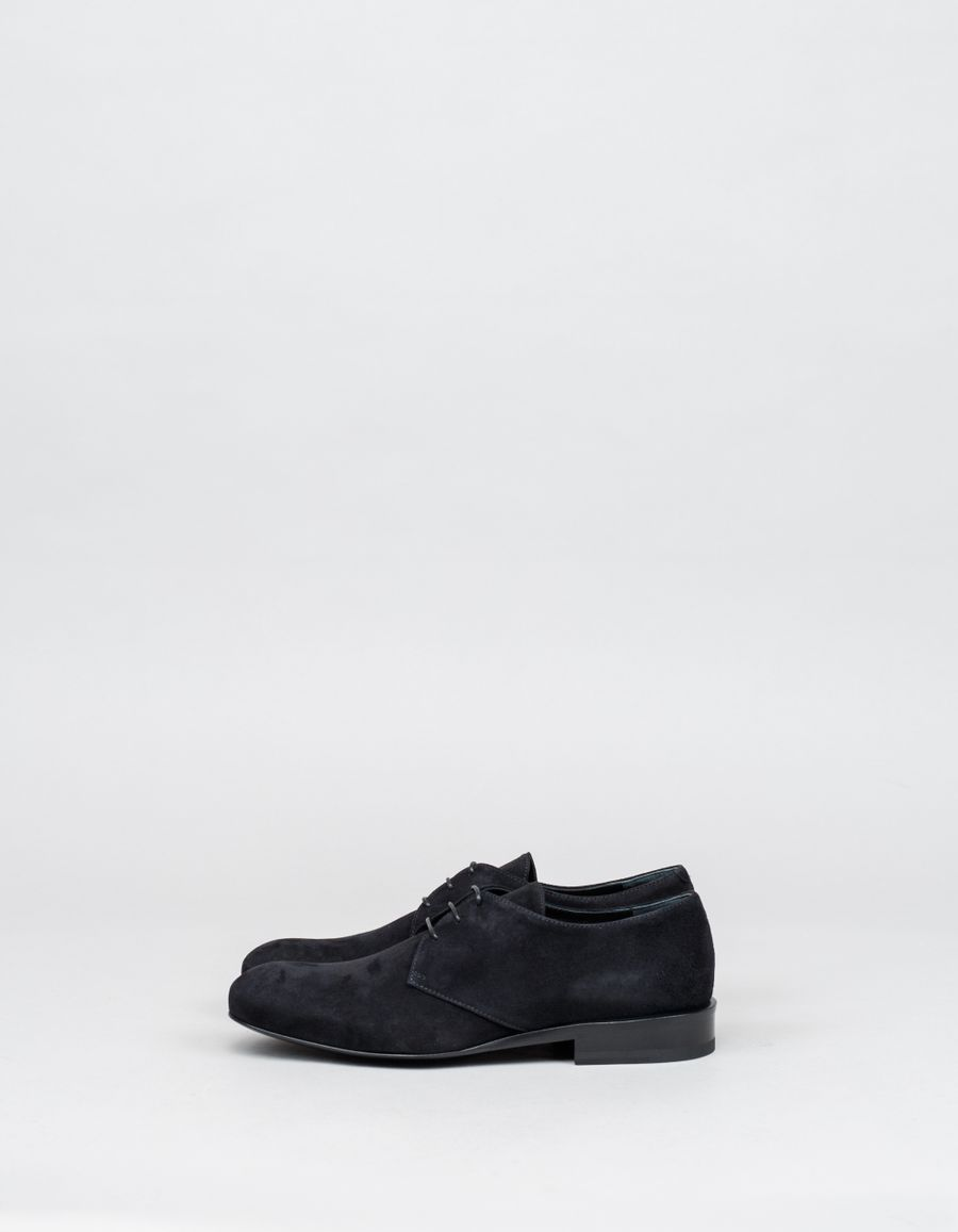 Jil Sander Hull Lace-Up Shoe Suede