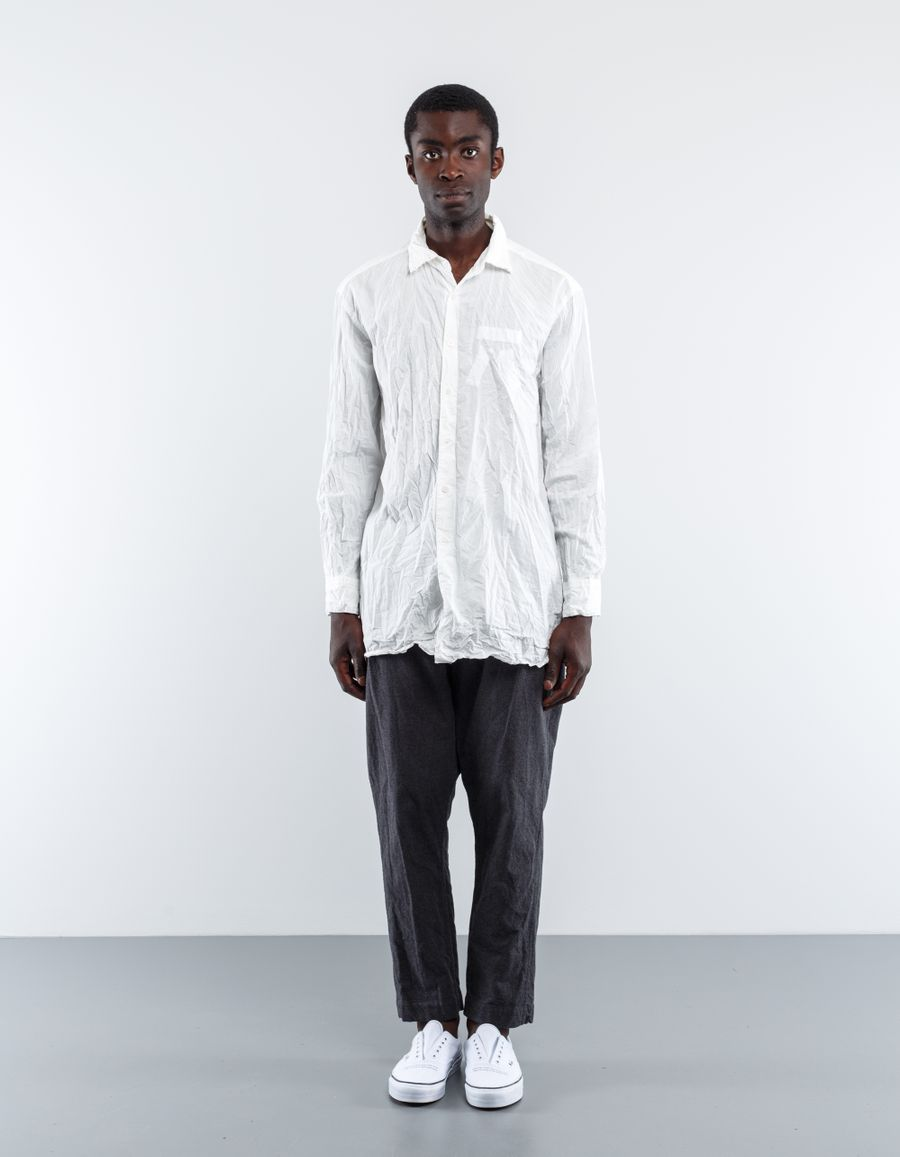 Casey Casey Oversized Paper Cotton Shirt