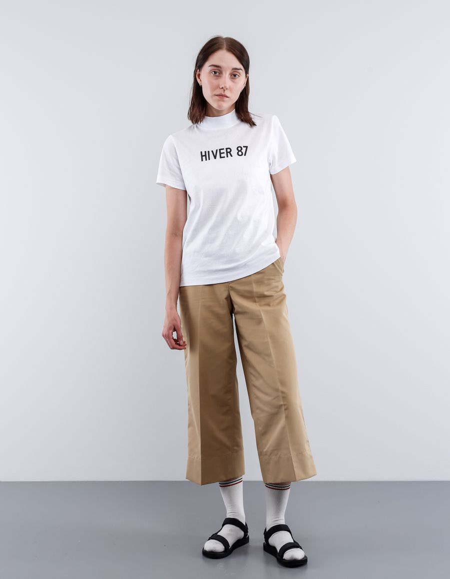 A.P.C. T-Shirt Hiver 87 High Collar