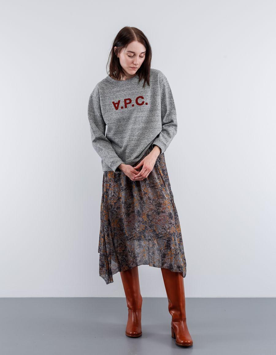 A.P.C. Sweatshirt Ethel Velvet Print