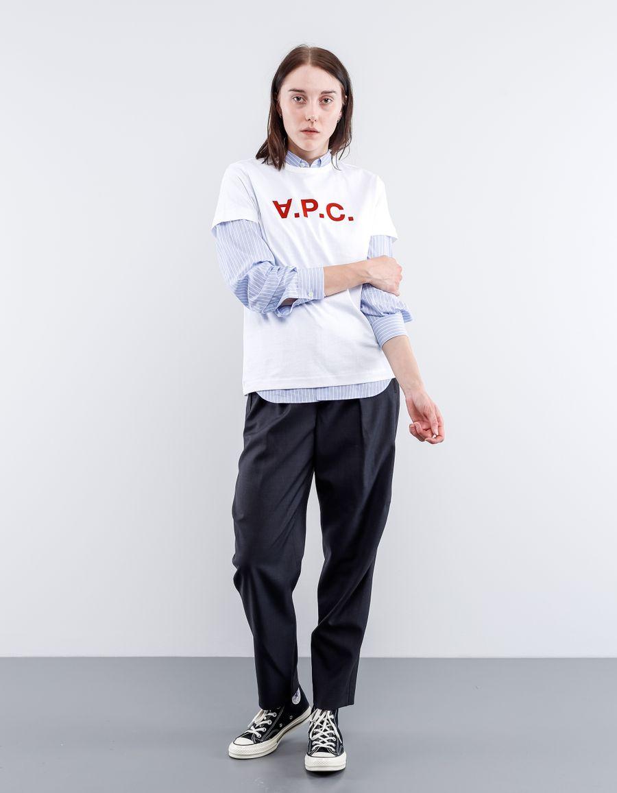 A.P.C. T-Shirt VPC Velvet Print
