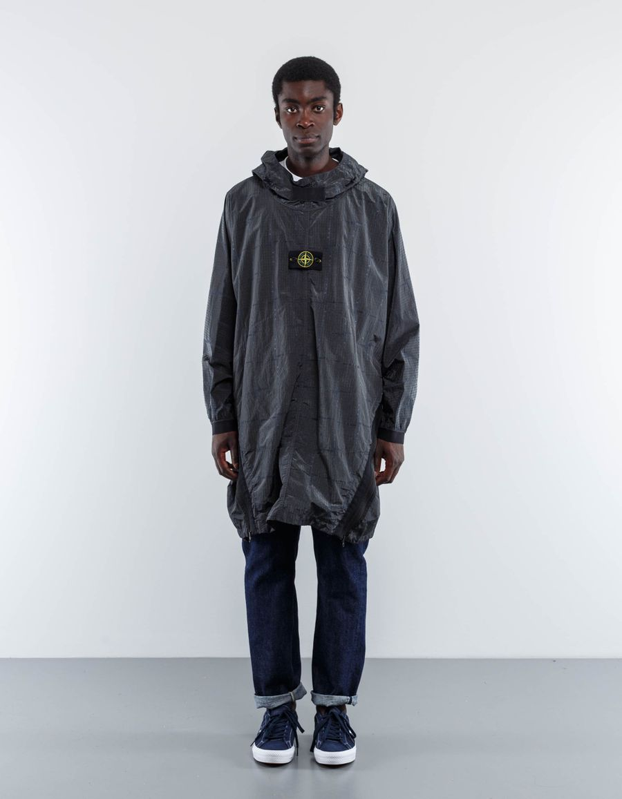 Stone Island SI House Check Pullover Parka