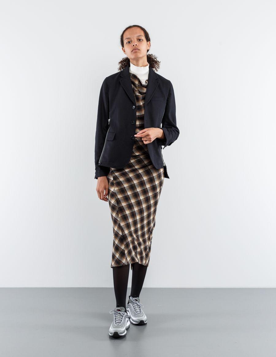Comme des Garçons Comme des Garçons Deconstructed Jacket w. Zipper