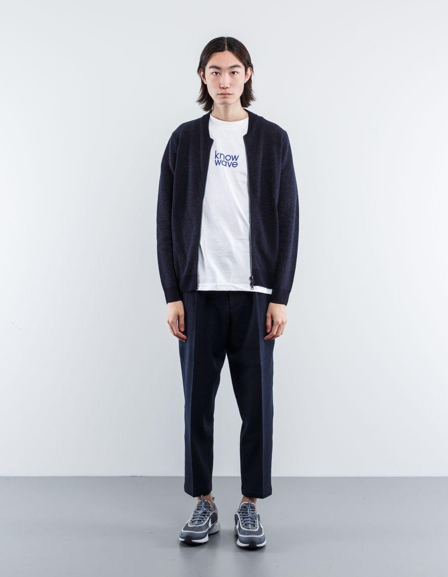 Aspesi Knitted Baseball Jacket
