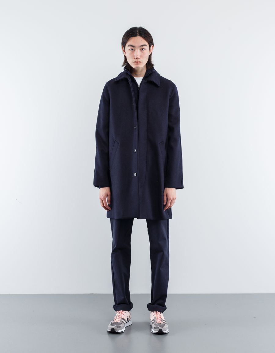 A.P.C. Auster Felted Wool Mac