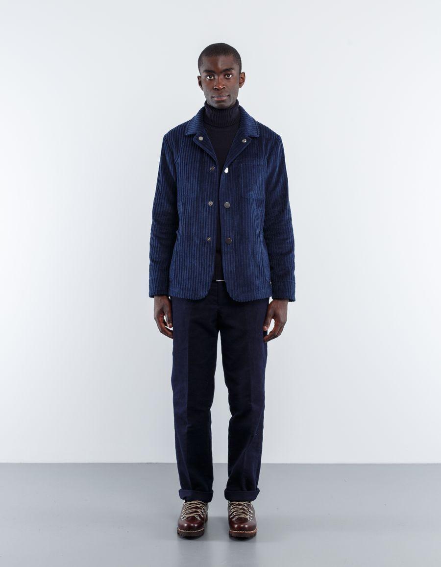 The Gigi  Big Wheel Cord Worker Jacket
