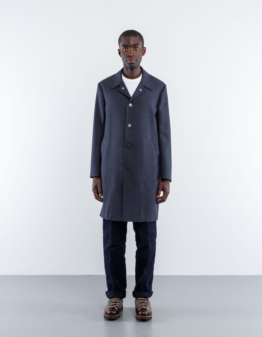 The Gigi  Wolf Mini Houndstooth Coat