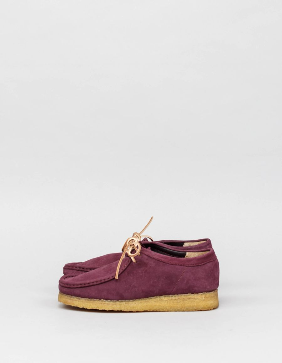 Clarks Originals  Veg Tanned Nubuck Wallabee