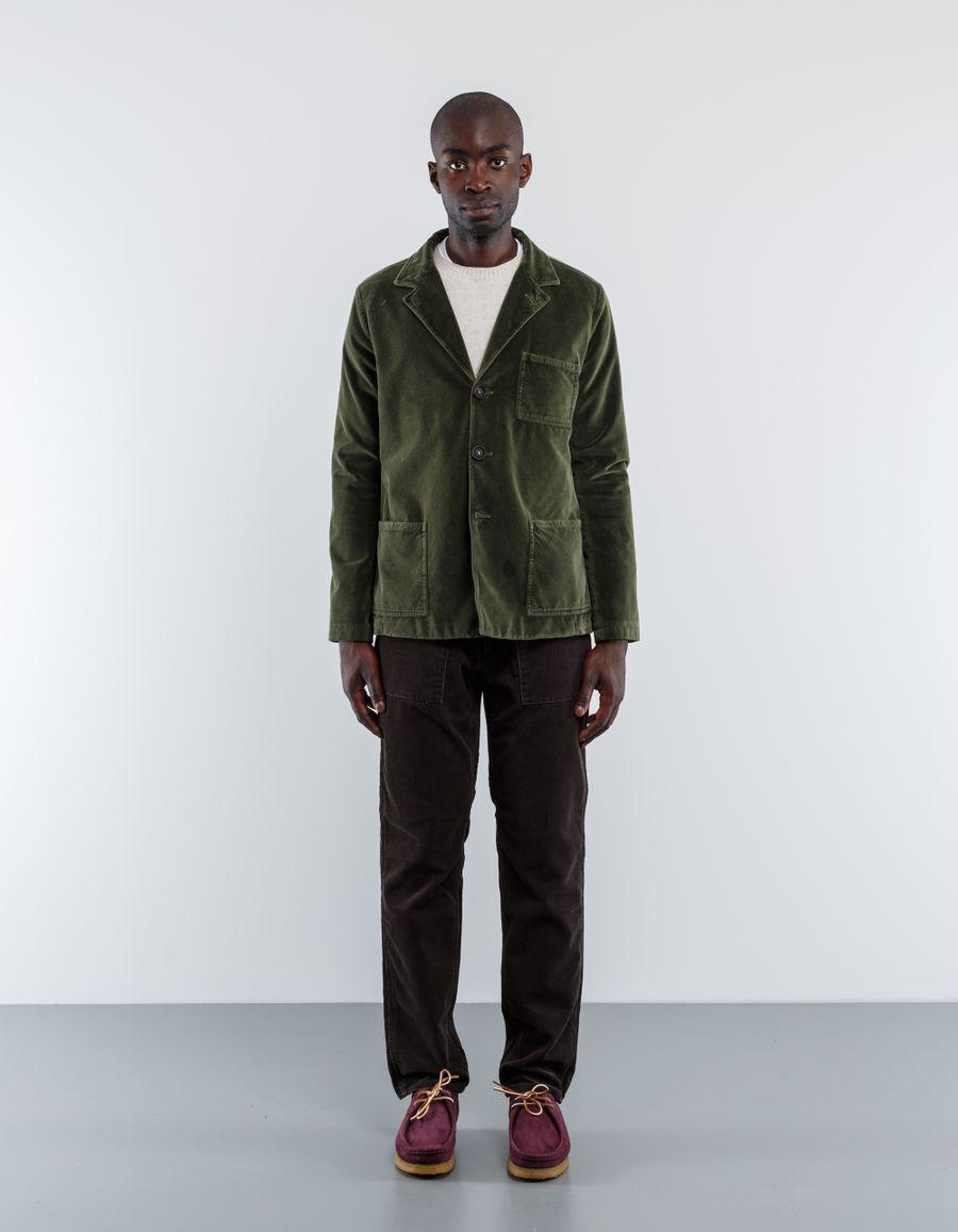 Massimo Alba Baglietto Velvet Worker Jacket