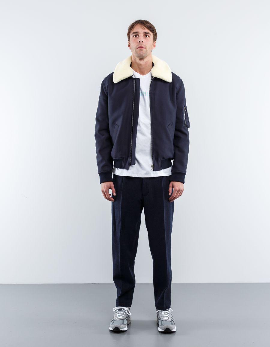 A.P.C. Cotton Overcollar  Jacket