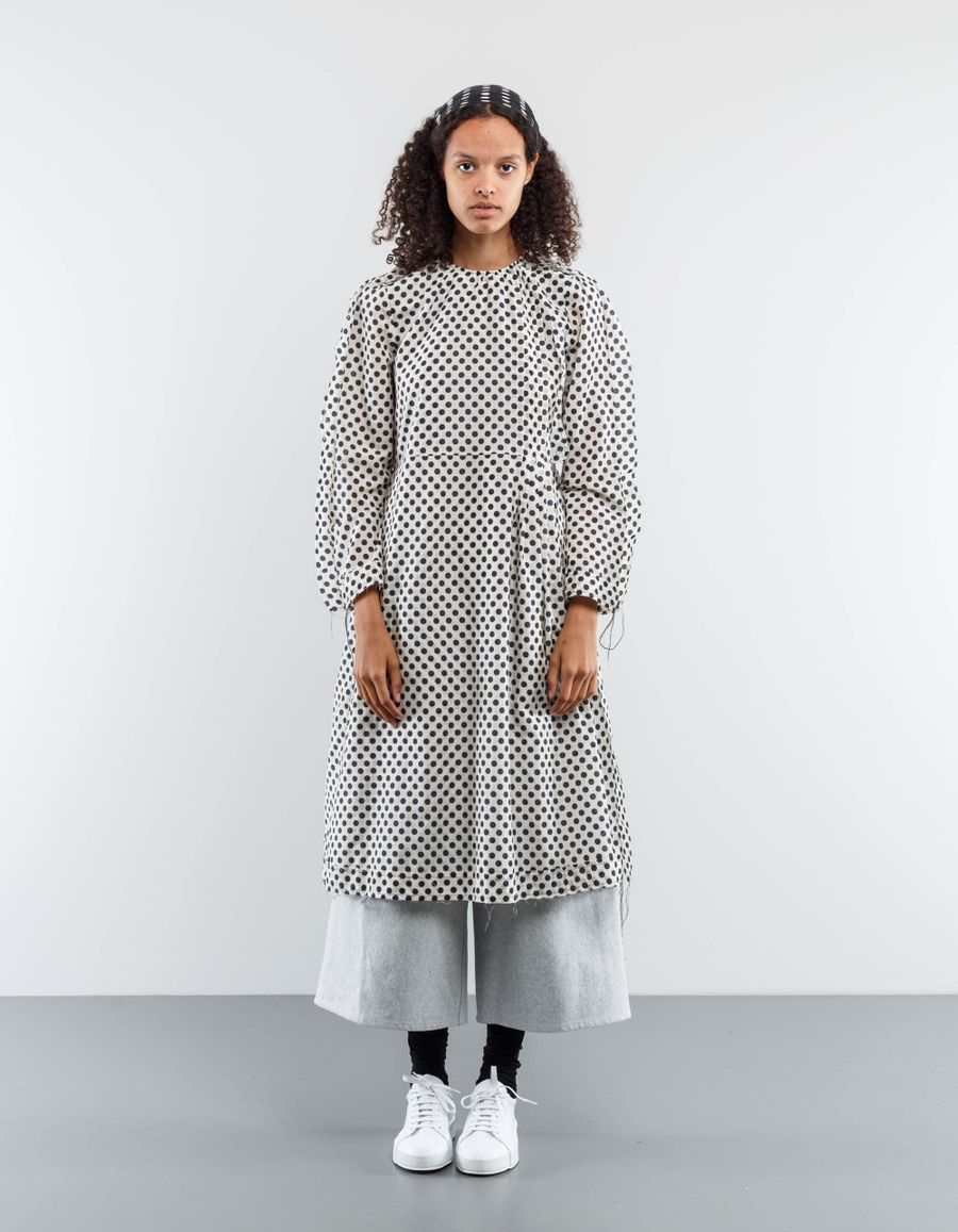 Sara Lanzi Winglet Dress Dot Muslin