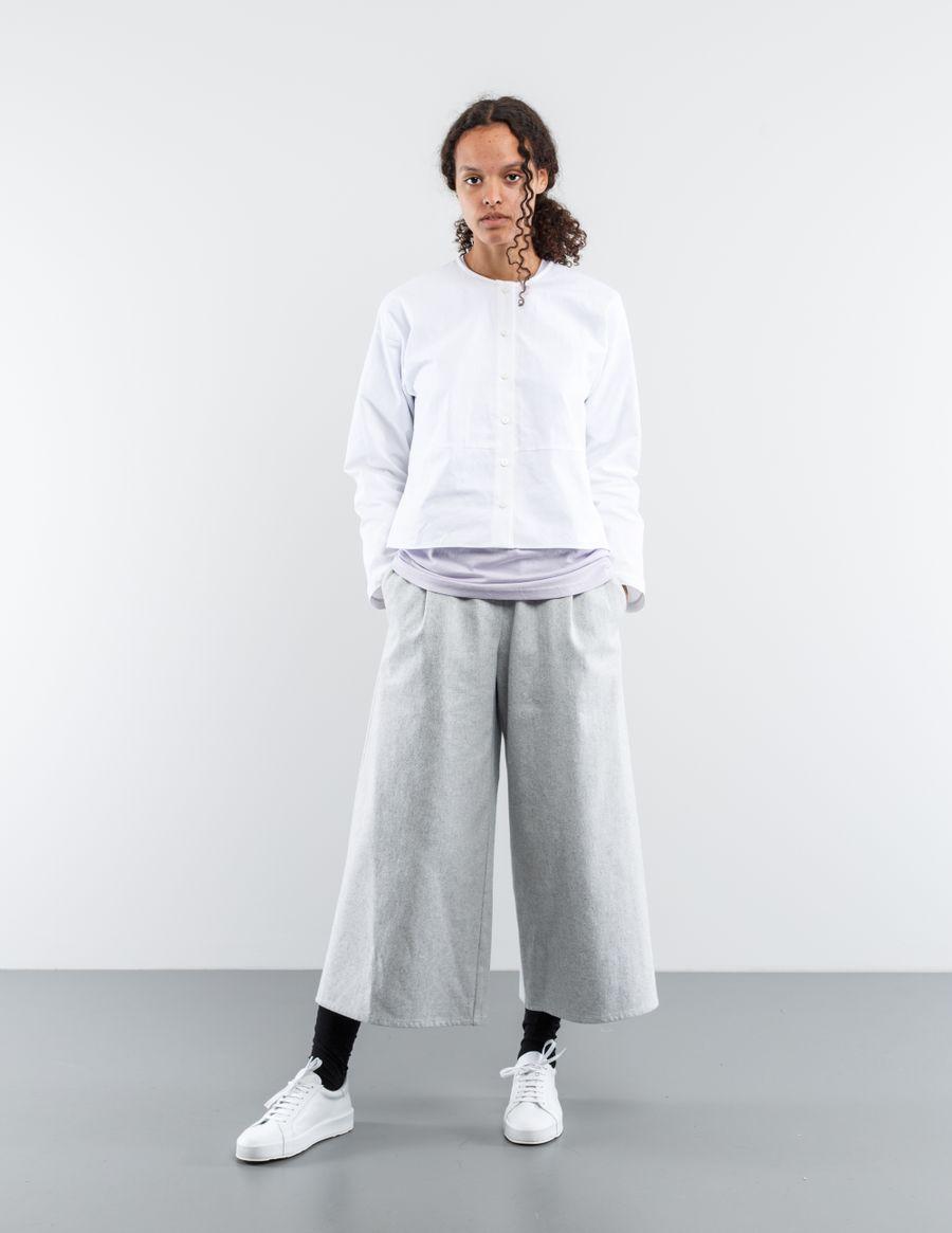 Sara Lanzi Piquet Cotton Shirt