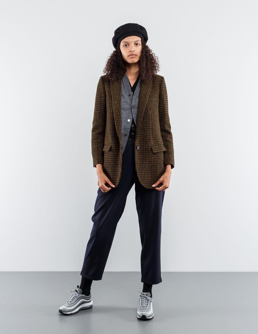 Isabel Marant Étoile Ice Houndstooth Blazer Jacket