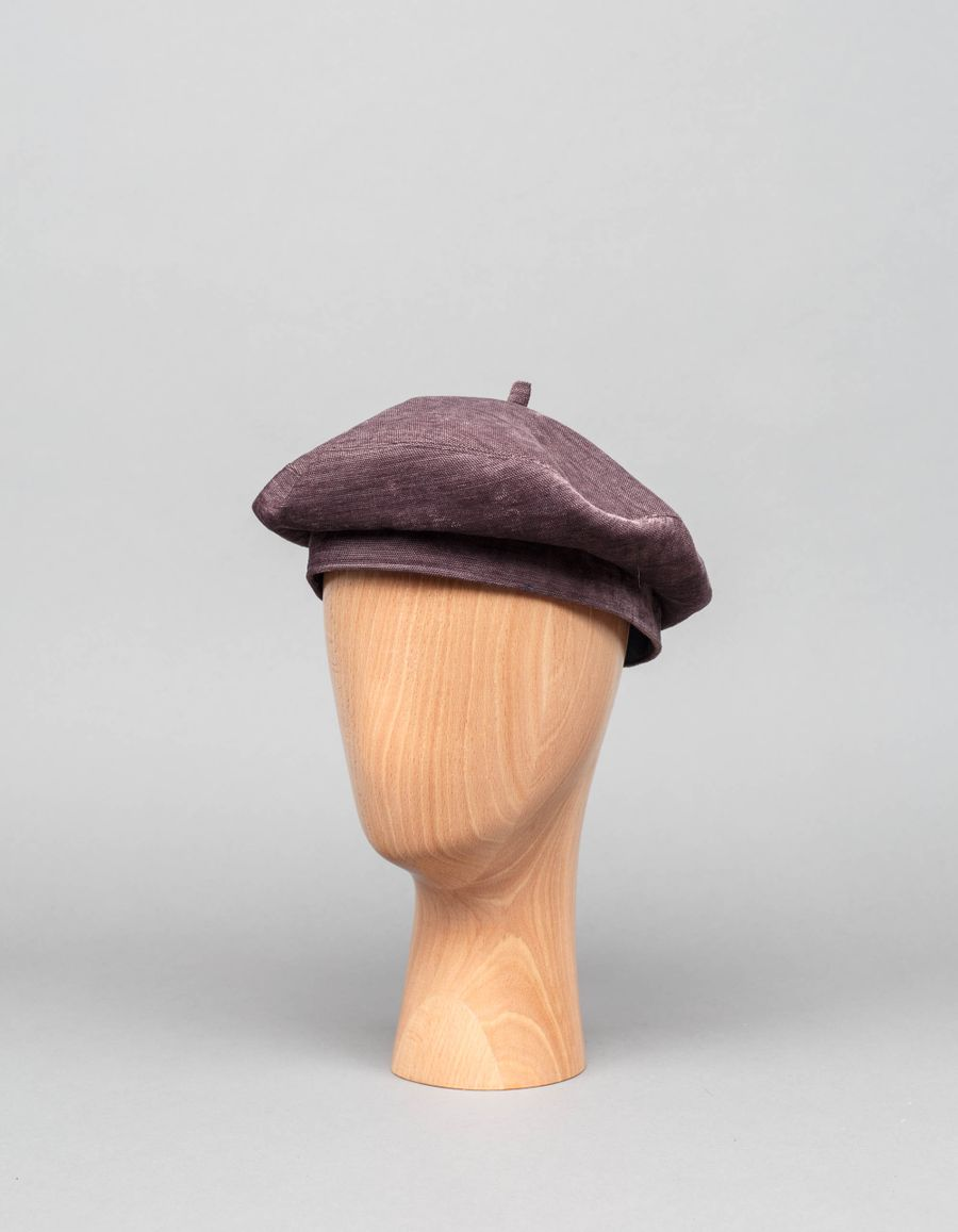 Anthony Peto Beret Vibration Mauve