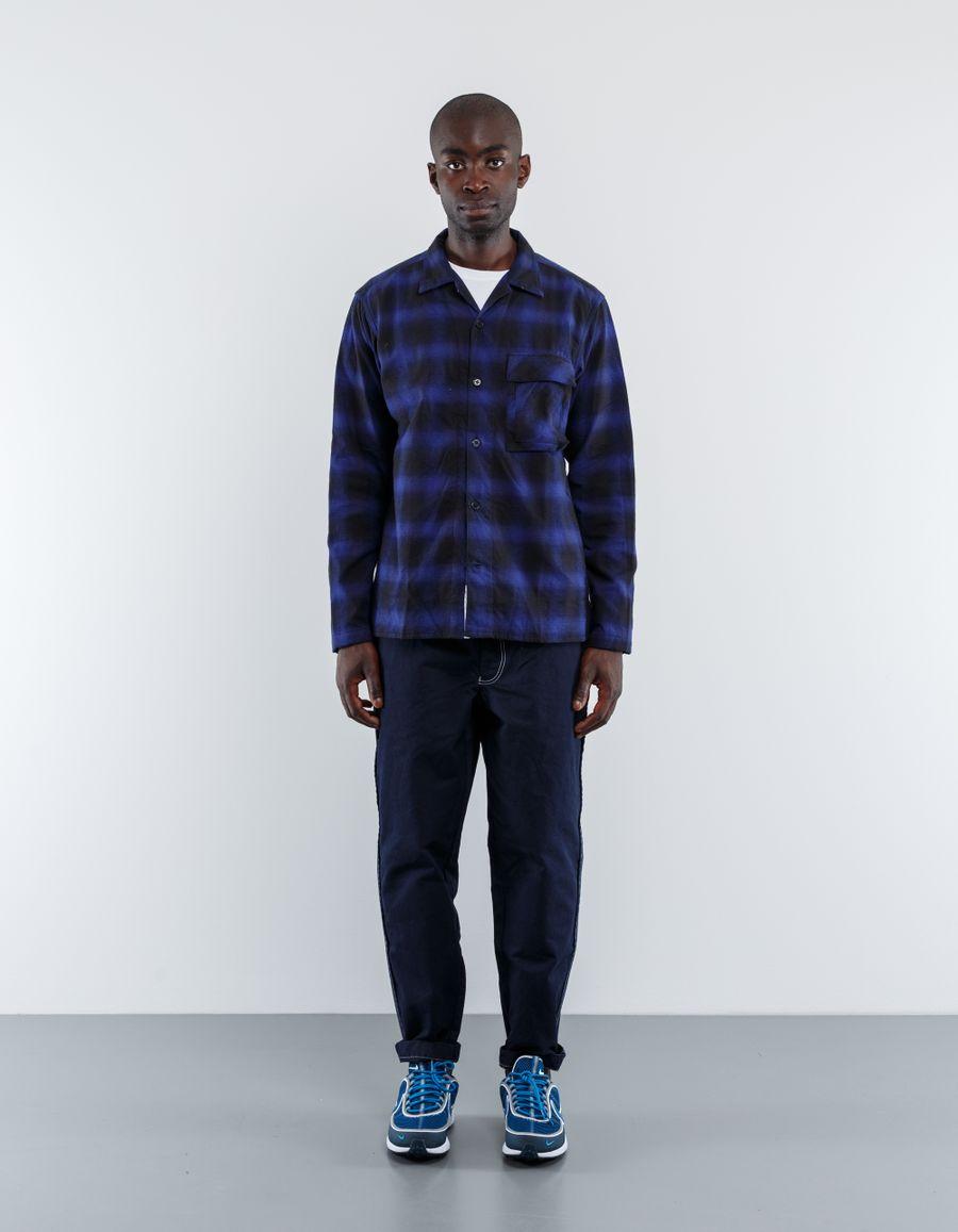 Nanamica Twill Check Shirt Jacket