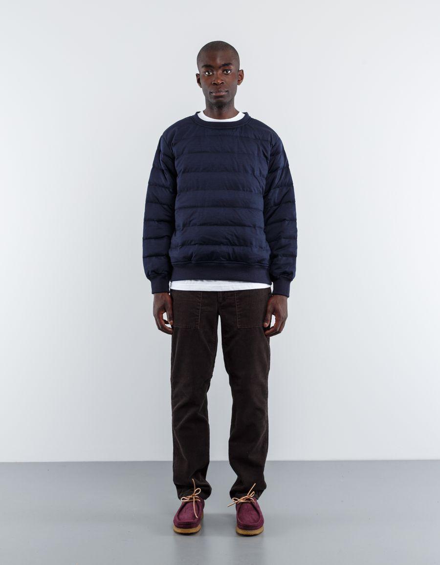 Nanamica Down Crew Neck Sweater