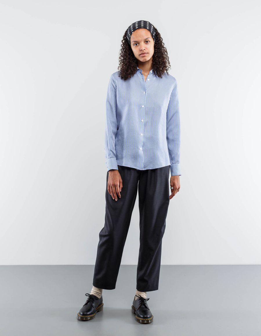 Barena Venezia Isidora Striped Silk Shirt