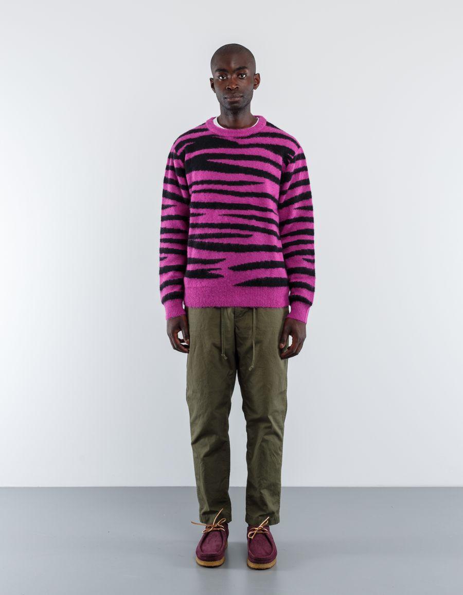 Stüssy Zebra Mohair Sweater