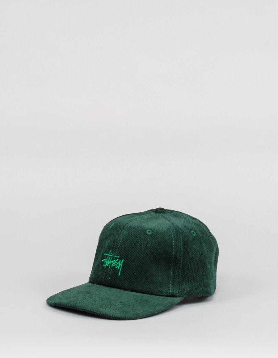 Stüssy Stock Velveteen Cap