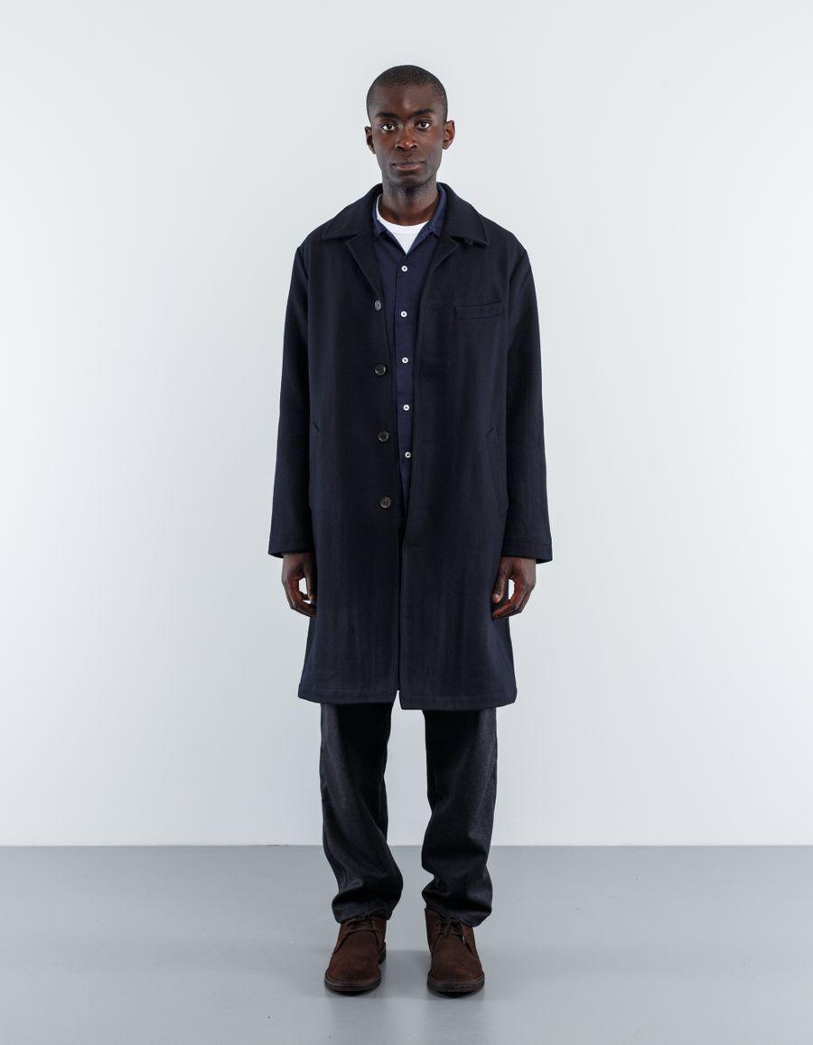 Universal Works Melton Top Coat