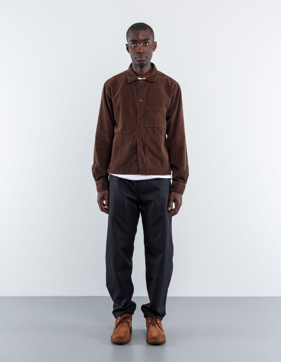 Universal Works Fine Cord Uniform Shirt
