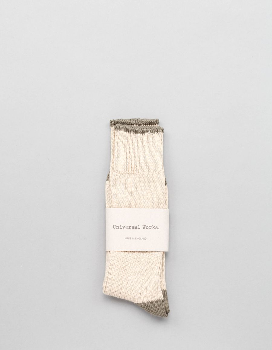 Universal Works Simple Cotton Socks