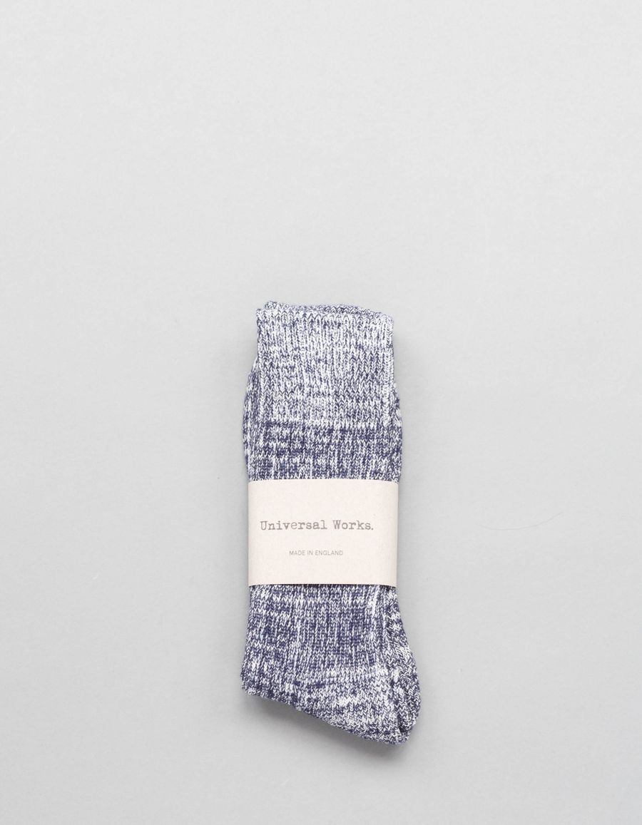 Universal Works Cotton Marl Socks