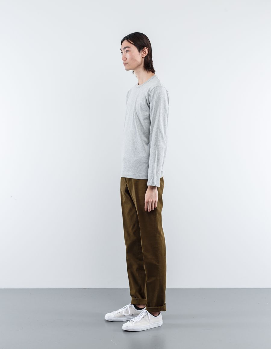 Incotex Cotton Satin Slim Fit Pant