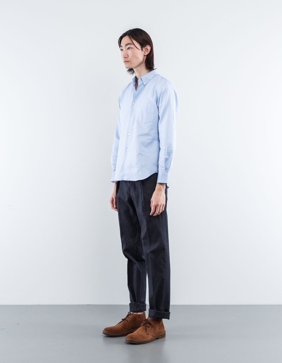 Incotex Brushed Cotton Carrot Fit Pant